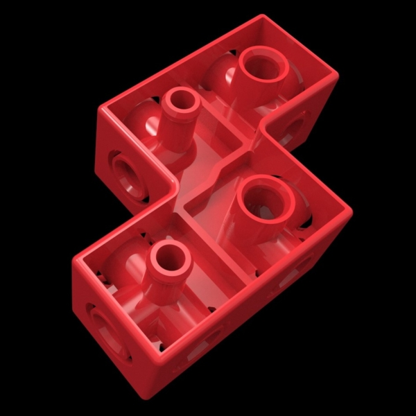 4X 3D Jigsaw Puzzle (Component)