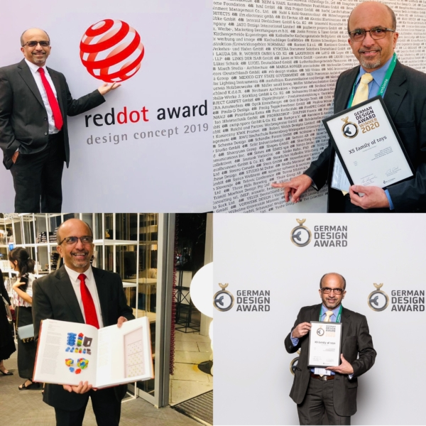 At two of our Design Award ceremonies: RDA2019 & GDA2020